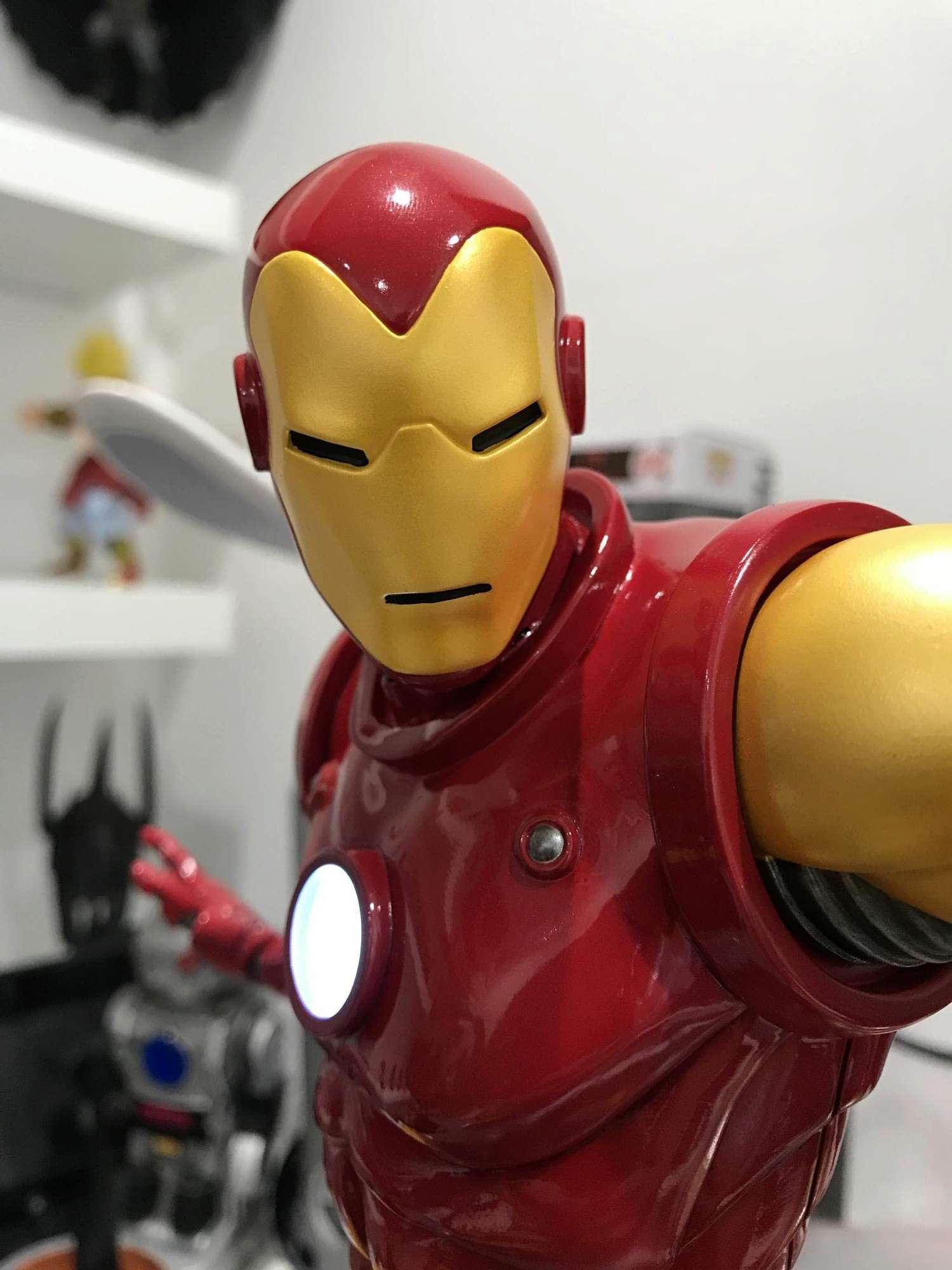 IRON MAN– Avengers Assemble Statue Img_5913