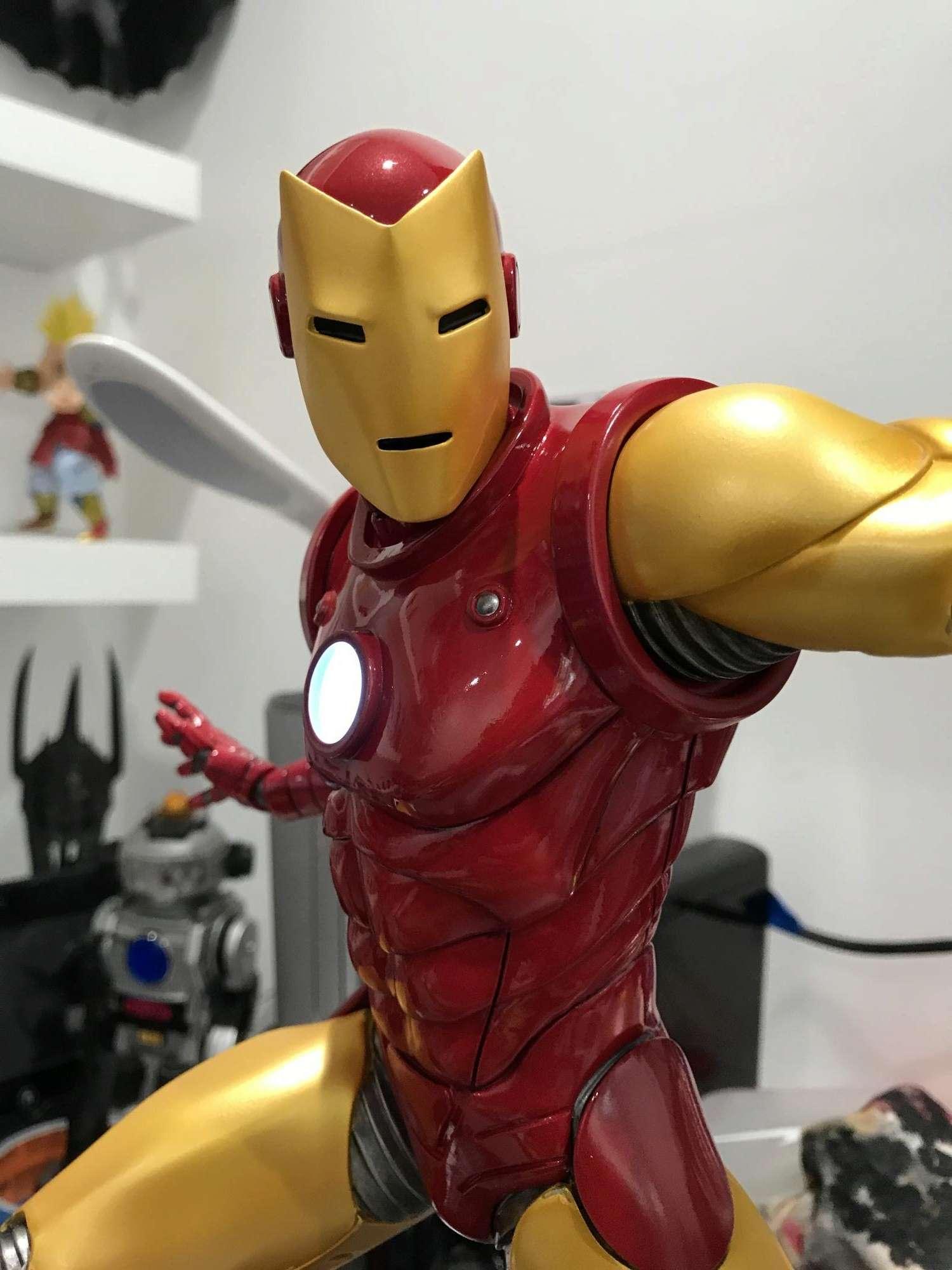 IRON MAN– Avengers Assemble Statue Img_5914