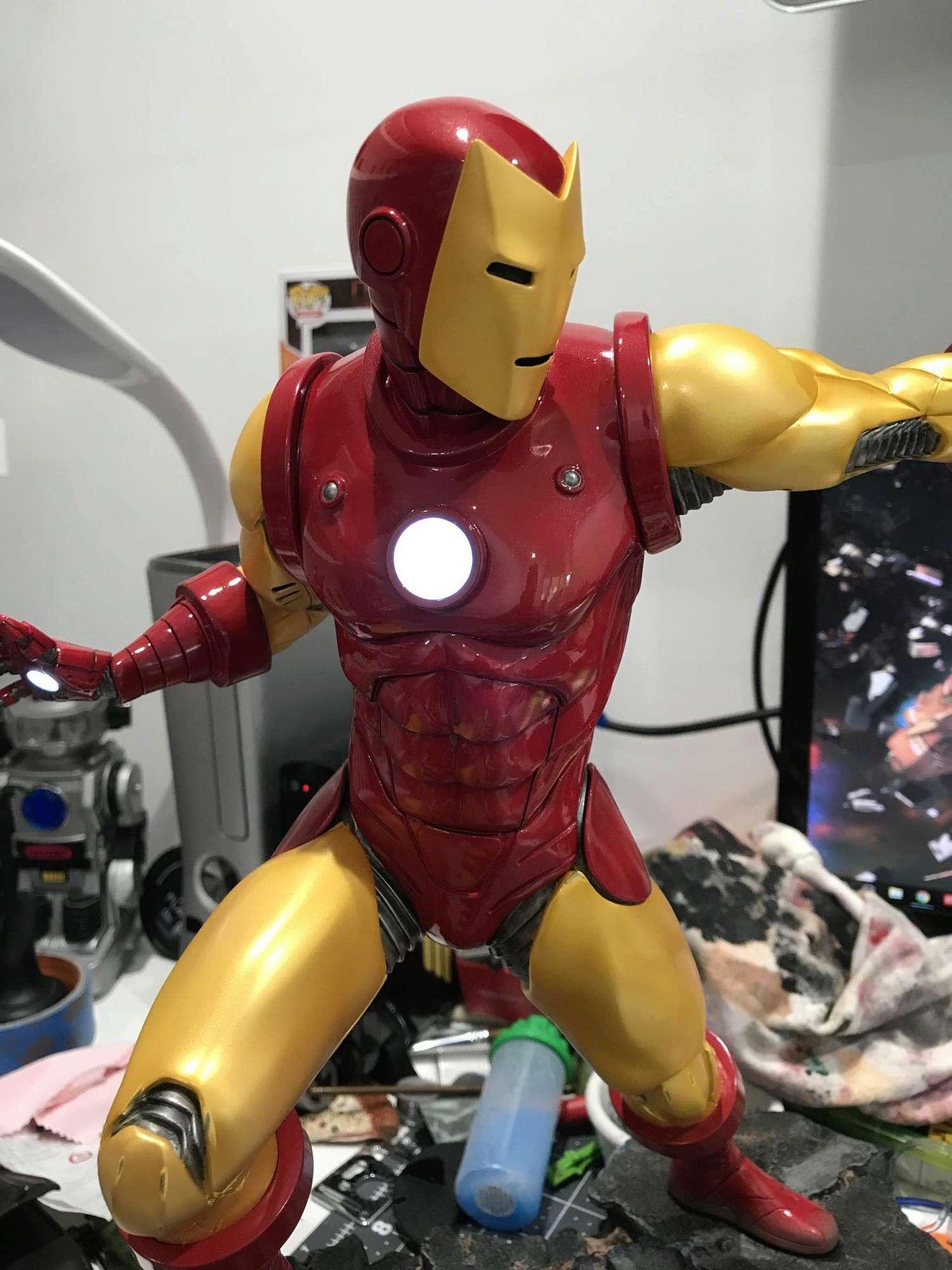 IRON MAN– Avengers Assemble Statue Img_5917