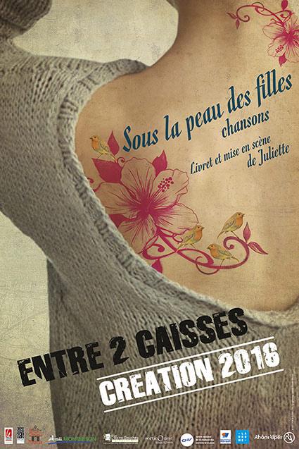 Entre 2 caisses - Sous la peau des filles (spectacle et CD) Affich10