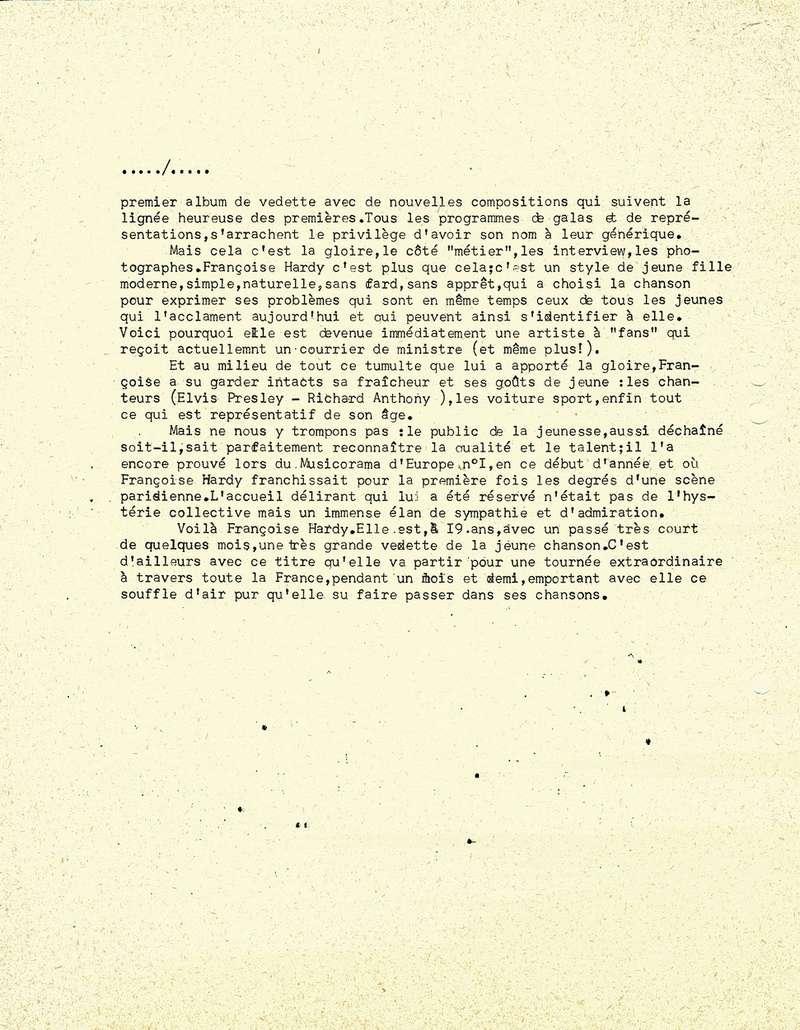 Dossier de Presse 1963 Premie11