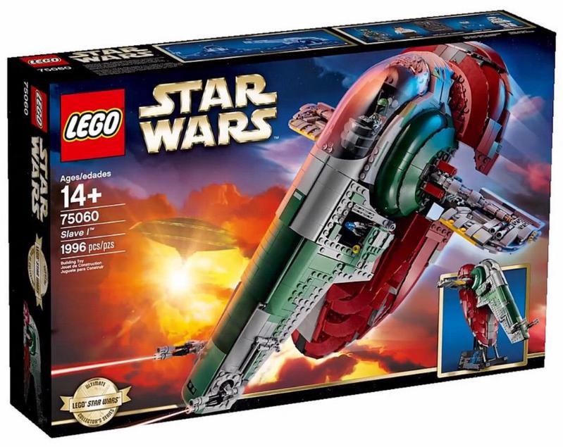 LEGO STAR WARS - 75060 - UCS SLAVE I 00117