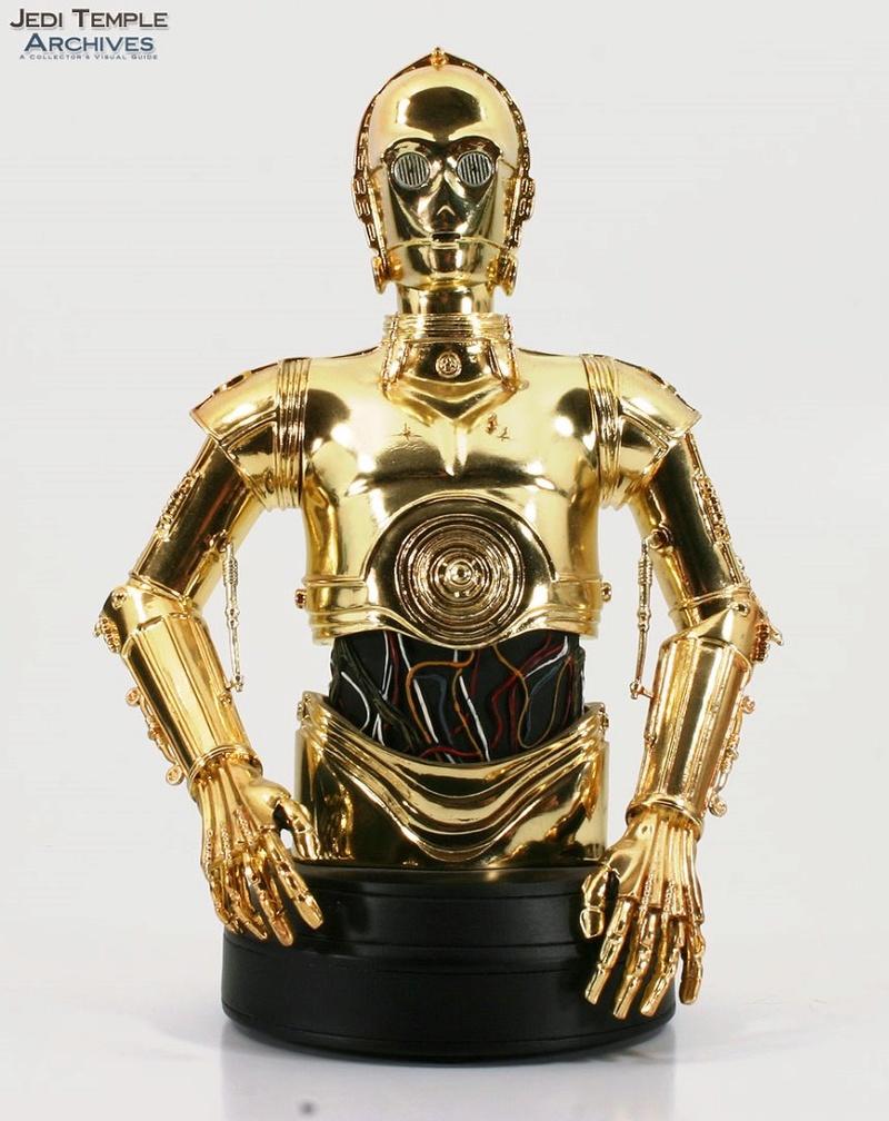 C-3PO Mini bust 00118