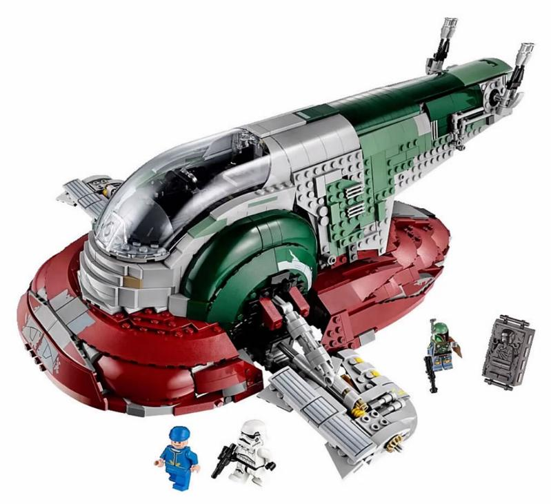LEGO STAR WARS - 75060 - UCS SLAVE I 00217