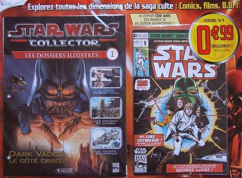 STAR WARS COMICS COLLECTOR - FEVRIER 2010 -  ATLAS 01-110