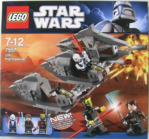 LEGO STAR WARS - 7957 - Sith Nightspeeder  01120