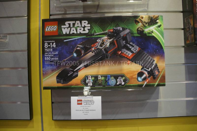LEGO STAR WARS - 75018 - Jek-14's Stealth Starfighter 01134