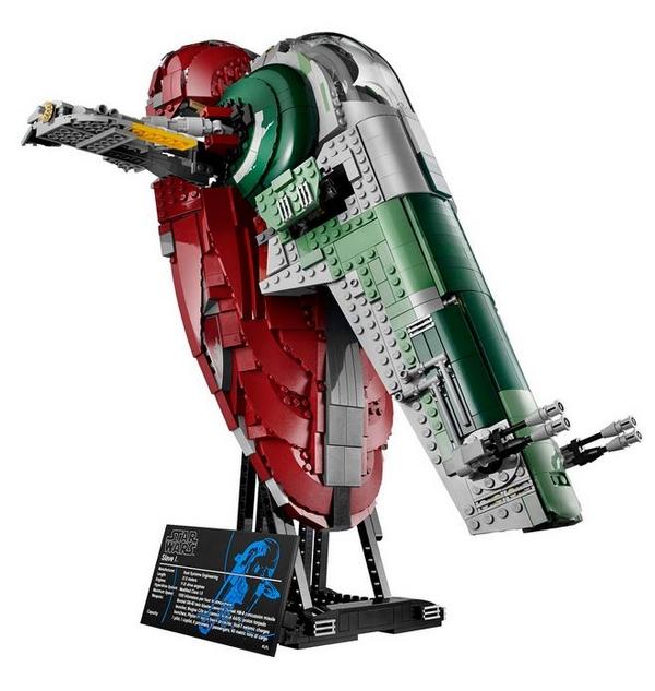 LEGO STAR WARS - 75060 - UCS SLAVE I 01213