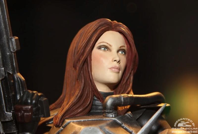 gentle Giant - Shae Vizla mini bust 01214