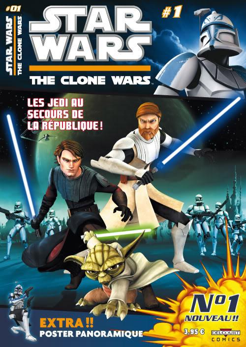 STAR WARS - THE CLONE WARS MAGAZINE #01 - #14 (Kiosque)  0139