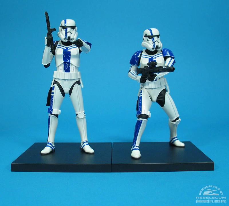 Kotobukiya: SDCC Exclusive ARTFX+ Stormtrooper Commander Set 01_110