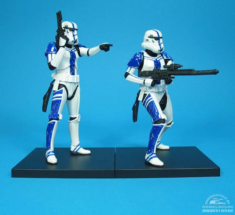 Kotobukiya: SDCC Exclusive ARTFX+ Stormtrooper Commander Set 02-110