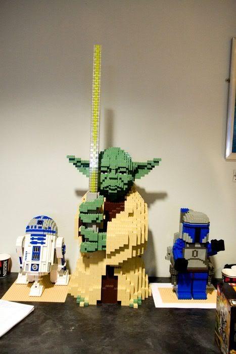 Création 1/1 et grandes tailles LEGO 02114