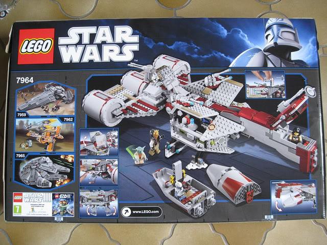 LEGO STAR WARS - 7964 - Frégate de la république 02116