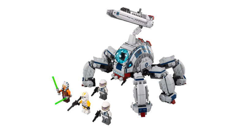 LEGO STAR WARS - 75013 - Umbaran MHC (Mobile Heavy Cannon) 02127