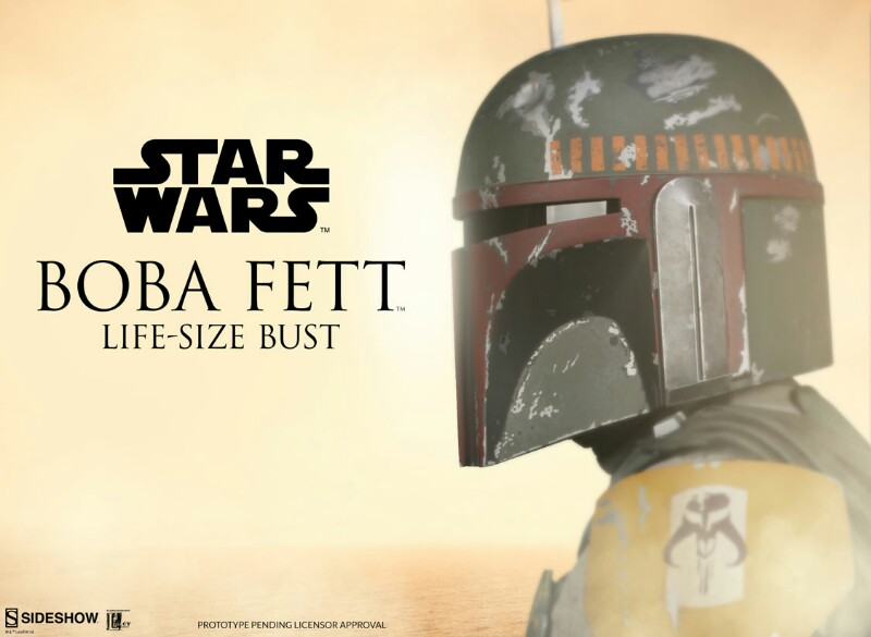 Sideshow Collectibles - Boba Fett Life-Size Bust 0242