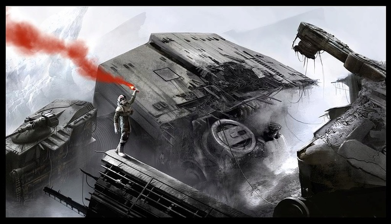 Artwork Star Wars by Benjamin Carré 0296