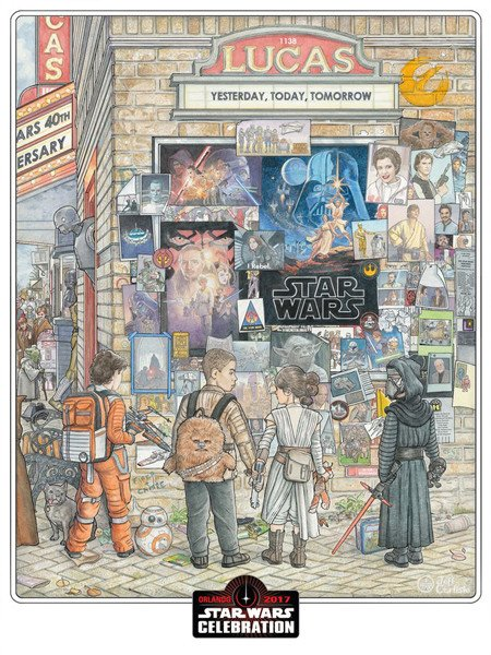 ART SHOW Star Wars Celebration Orlando 2017 0297