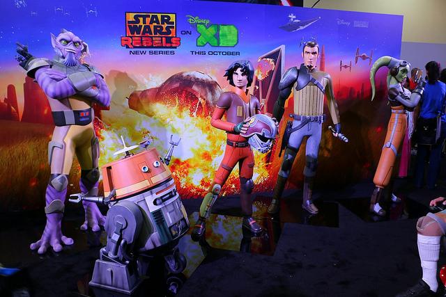 Star Wars - San Diego Comic-con 2014 03128