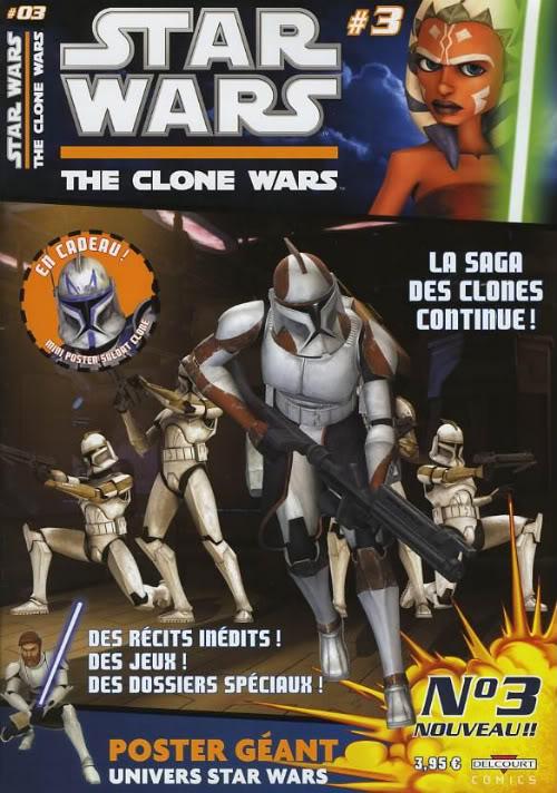 STAR WARS - THE CLONE WARS MAGAZINE #01 - #14 (Kiosque)  0334