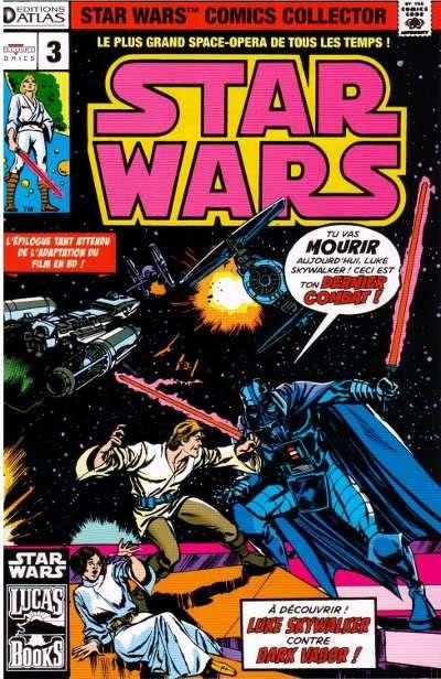 EDITION ATLAS - STAR WARS COMICS COLLECTOR #01 - #20 0335