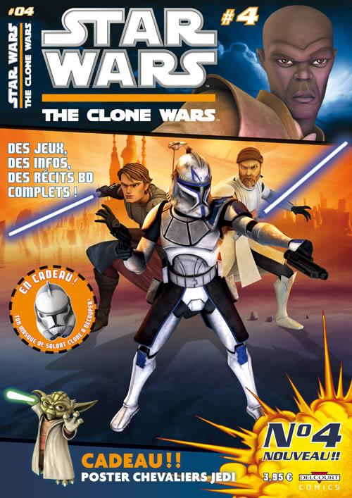STAR WARS - THE CLONE WARS MAGAZINE #01 - #14 (Kiosque)  0431