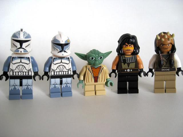 LEGO STAR WARS - 7964 - Frégate de la république 0488