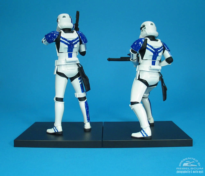 Kotobukiya: SDCC Exclusive ARTFX+ Stormtrooper Commander Set 04_110