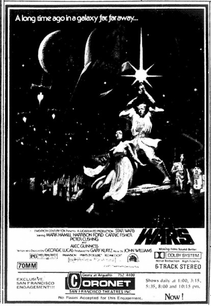 Star Wars and the Coronet in 1977: An oral history 04affi10