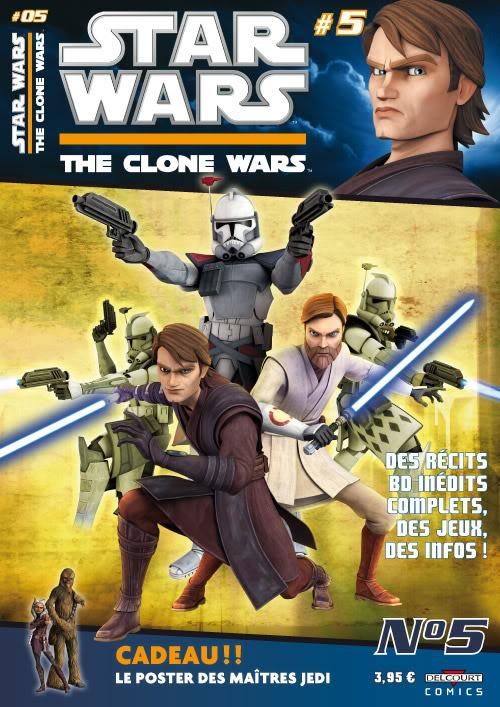 STAR WARS - THE CLONE WARS MAGAZINE #01 - #14 (Kiosque)  0530