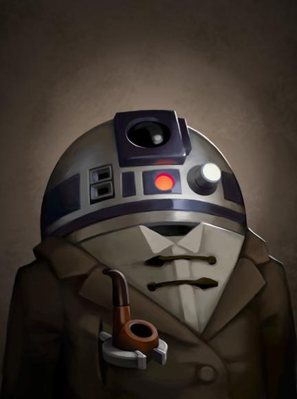 Artwork Star Wars - ACME - by Greg Peltz 0572