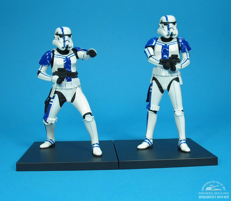 Kotobukiya: SDCC Exclusive ARTFX+ Stormtrooper Commander Set 05_110