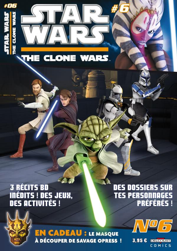STAR WARS - THE CLONE WARS MAGAZINE #01 - #14 (Kiosque)  0628