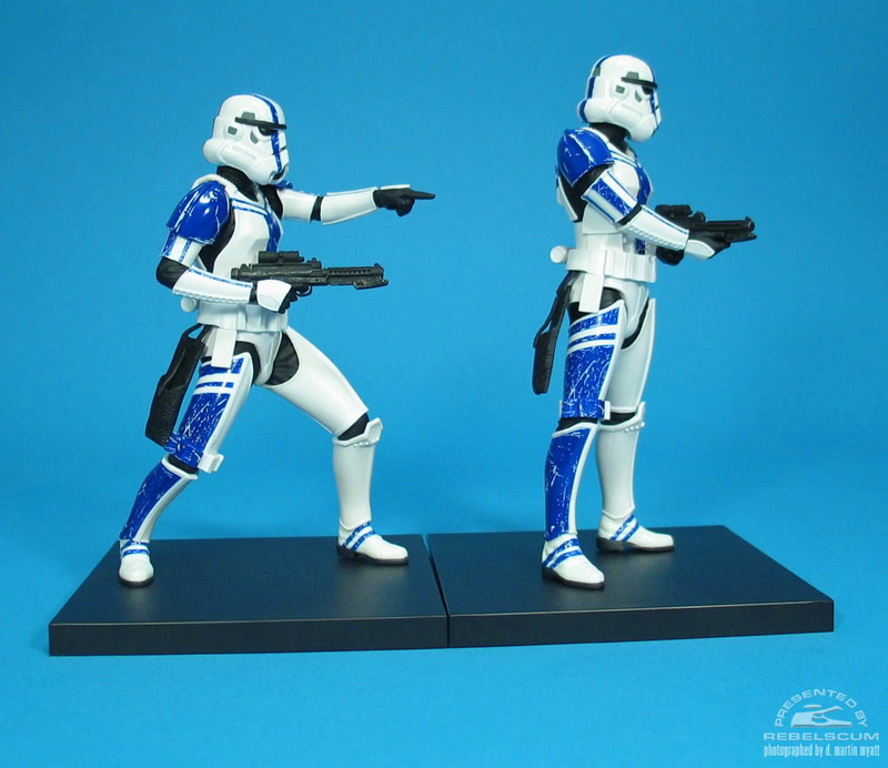 Kotobukiya: SDCC Exclusive ARTFX+ Stormtrooper Commander Set 0678