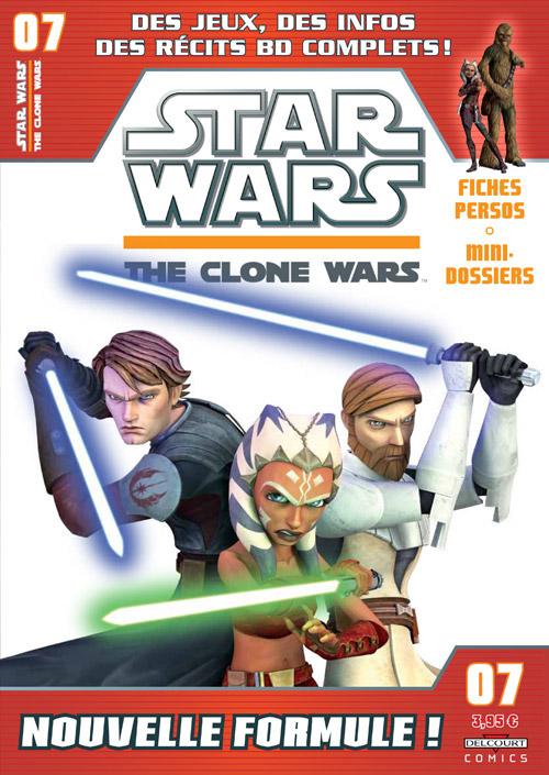 STAR WARS - THE CLONE WARS MAGAZINE #01 - #14 (Kiosque)  0727