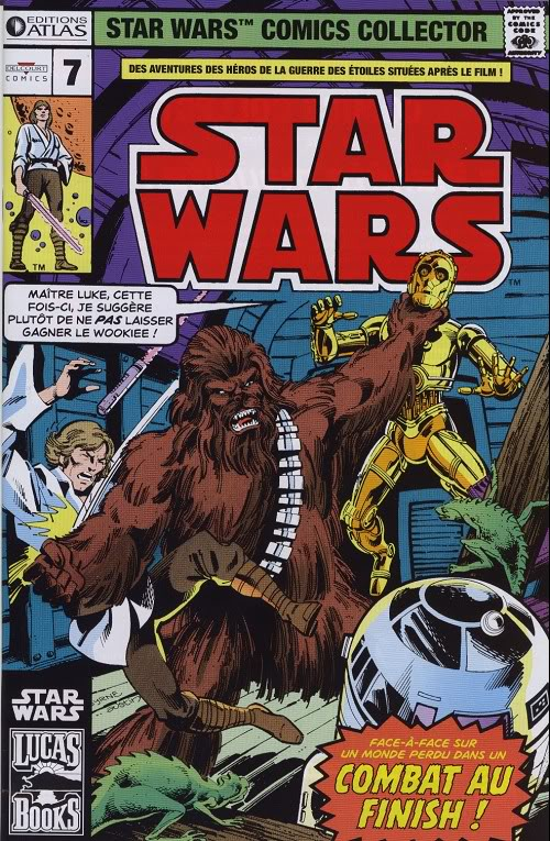 EDITION ATLAS - STAR WARS COMICS COLLECTOR #01 - #20 0728