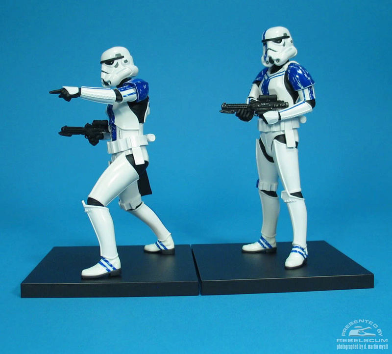 Kotobukiya: SDCC Exclusive ARTFX+ Stormtrooper Commander Set 0774
