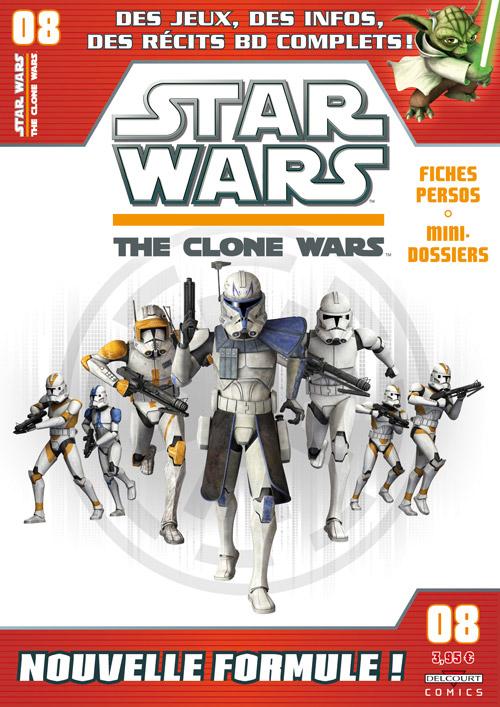 STAR WARS - THE CLONE WARS MAGAZINE #01 - #14 (Kiosque)  0825