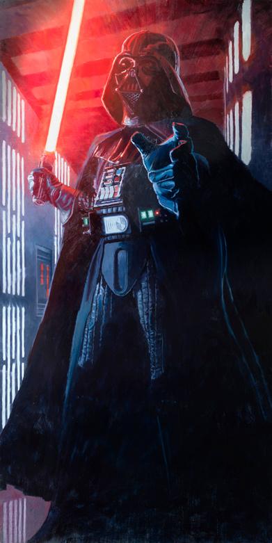 Artwork Star Wars - ACME - Confronting Vader 0843