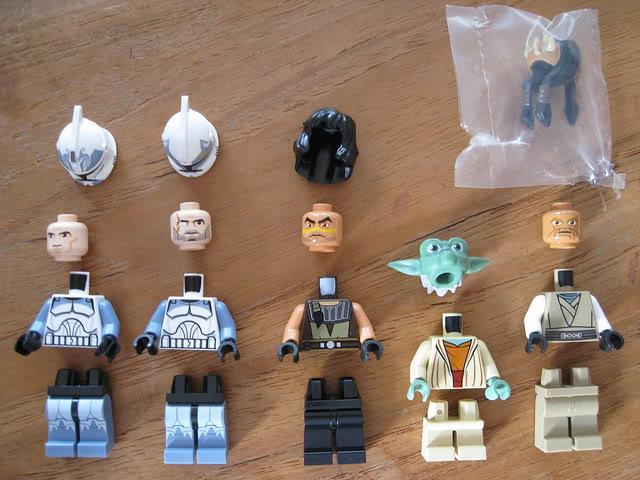 LEGO STAR WARS - 7964 - Frégate de la république 0855