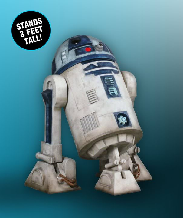 Gentle Giant - R2-D2 Clone Wars Monument 0869
