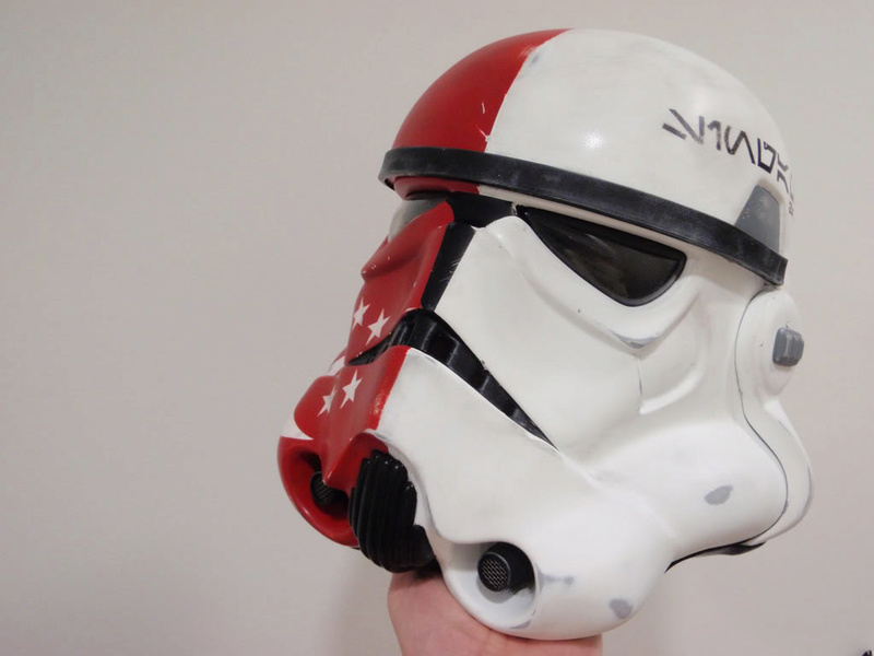 EFX - Stormtrooper Helmet 501 ST Legion TK Project - Page 3 0887