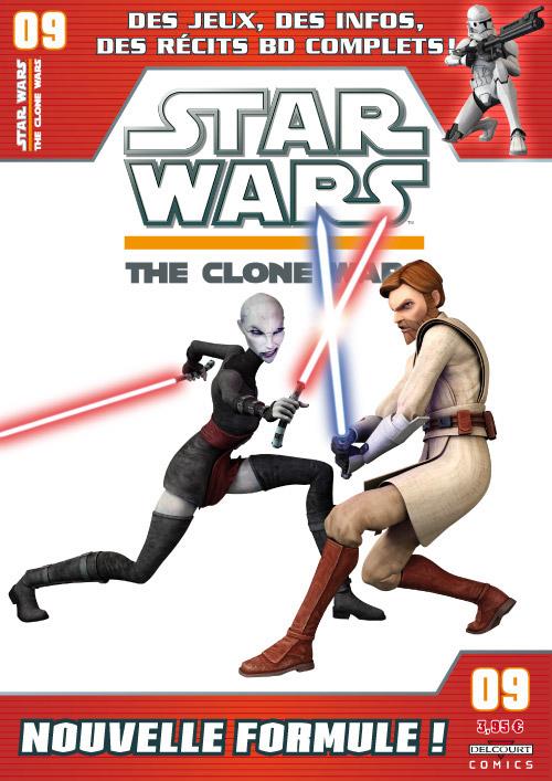STAR WARS - THE CLONE WARS MAGAZINE #01 - #14 (Kiosque)  0925