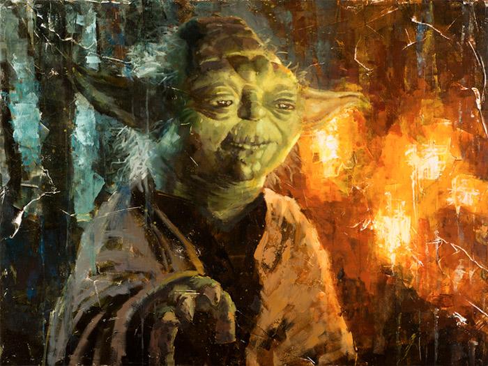 Artwork Star Wars - ACME - Master Yoda 0939