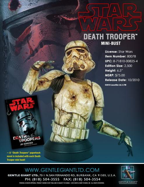 Gentle Giant - Death Trooper Mini Bust 1-1510