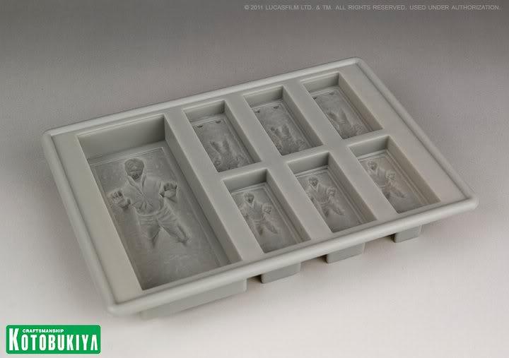 Kotobukiya - Han Solo Carbonite - Silicone Ice Tray 10013