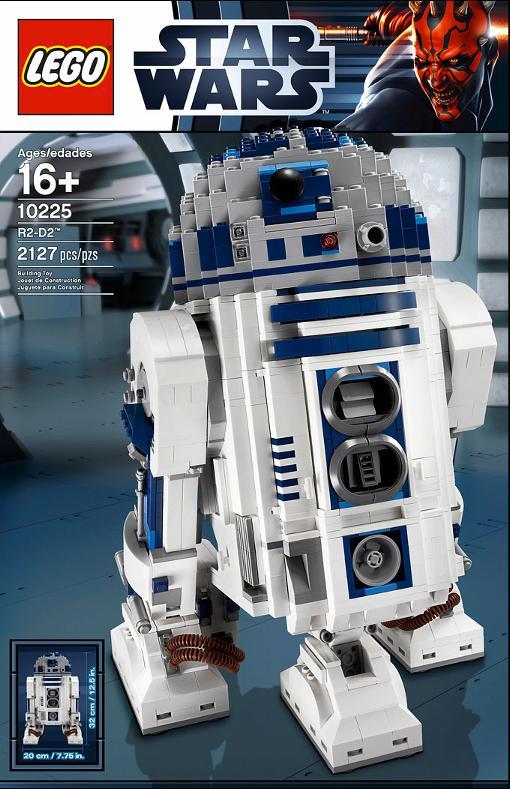 LEGO STAR WARS - 10225 - R2-D2 UCS 10225-10