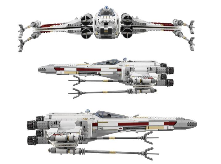 LEGO STAR WARS - 10240 - Red Five X-Wing Starfighter UCS 10240-21
