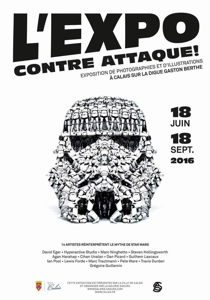 """""""L'Expo contre-attaque"""" 18 juin - 18 septembre 2016 - Calais 1026"""