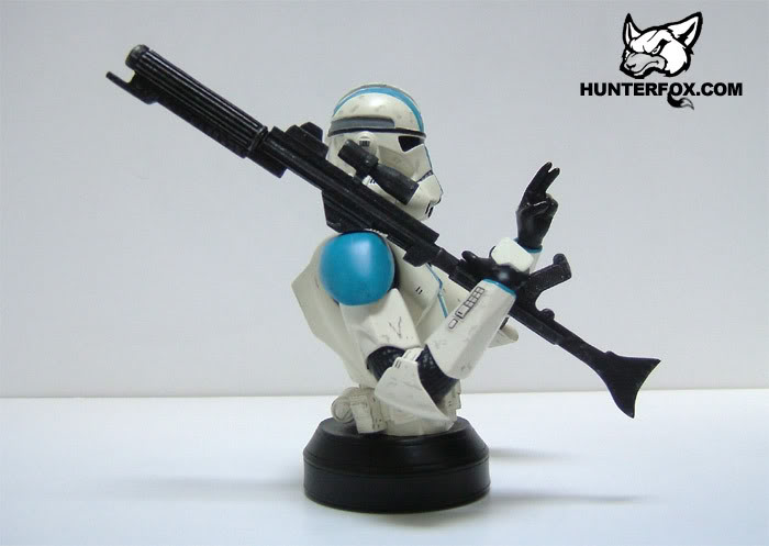 Clone Trooper 501st Special Ops (Blue) ROTS Mini bust 10312